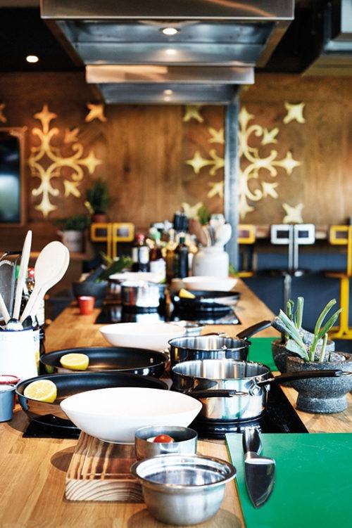 Jamie Oliver's new cookery school