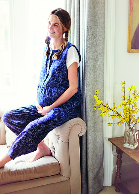 clary and peg blue dungarees