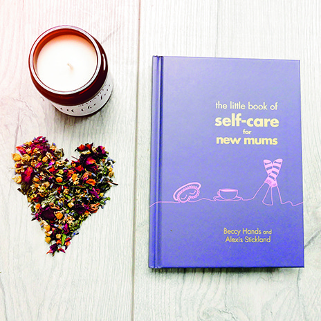 Self Care Book Candle Heart Web